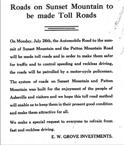 Toll Announcement