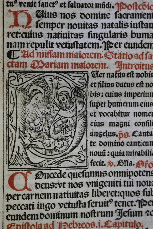 Page from Missale ad vsvm ecclesiae Romanae
