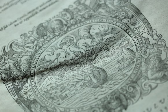 Close-up of the image in the title page of Q.2.6