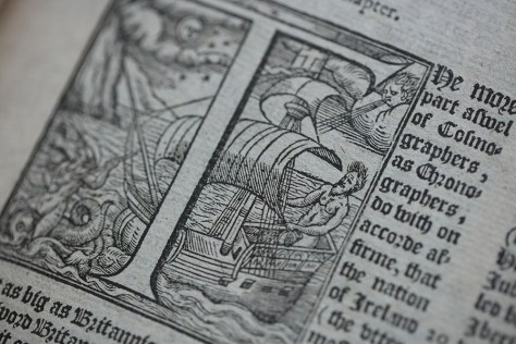Close-up of a page of F.17.48