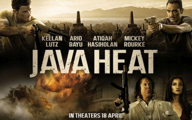 Java Heat Movie Poster
