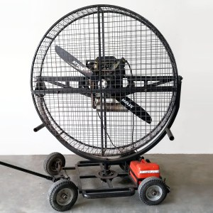 V-Twin Petrol Driven Wind Machine Image
