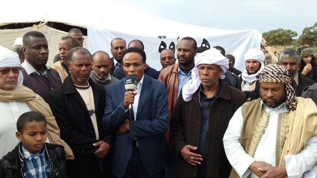 Mayor with Mr Gaballah Shibani (HoR)