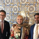 AbdulSalam Nasiyeh incontra la vicepresidente del Bundestag Claudia Roth