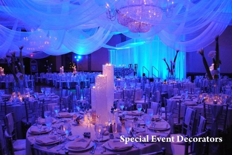 Diy Ceiling Draping Wedding