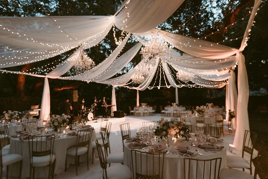 Ryan  Joyce  A Starry Night Wedding Reception  The