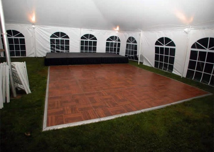 chair linens for rent resin wicker rocking view different dance floor configurations and materials   event rentals