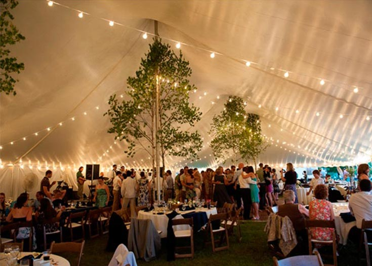Caf String Tent Lighting  Rent Decorative Wedding Tent