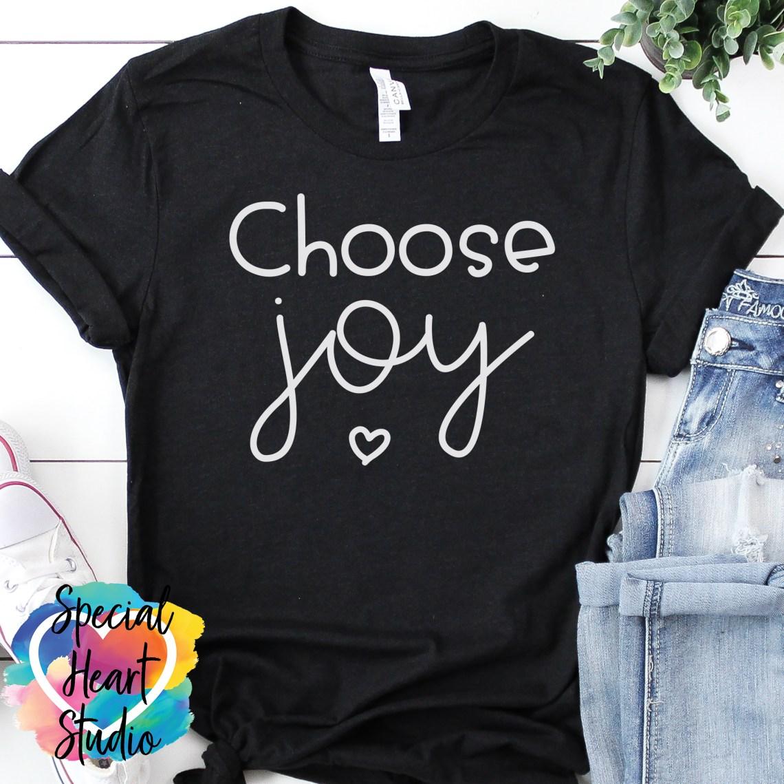 Download Choose Joy SVG Cut File - Special Heart Studio - Cut files ...