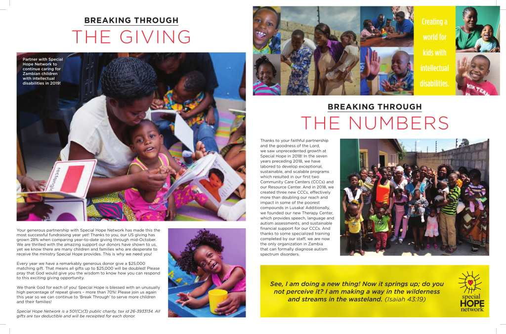 Children With Disabilities Continue To >> Special Hope Network Every Child Matters