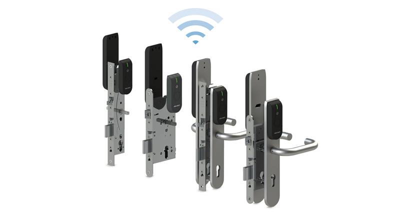 Interesting wireless door locks