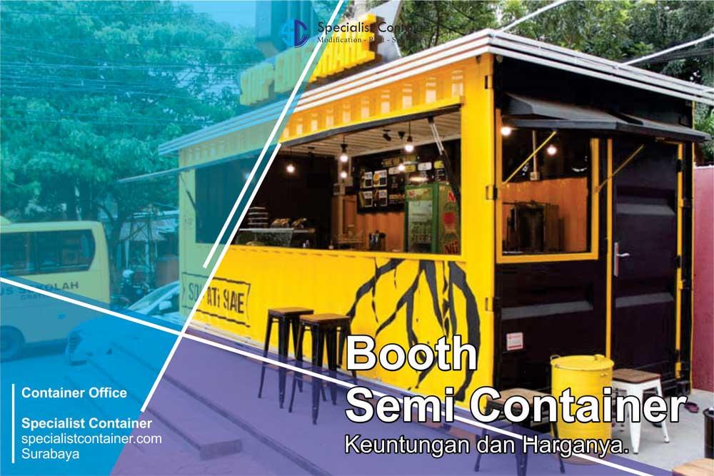 Booth Container Kelebihan Dan Harga Specialist Container