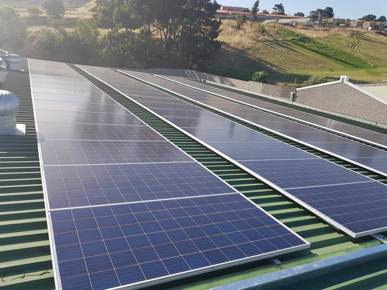 20171207_171925 25kwp 3 phase grid tie solar system installation leading edge
