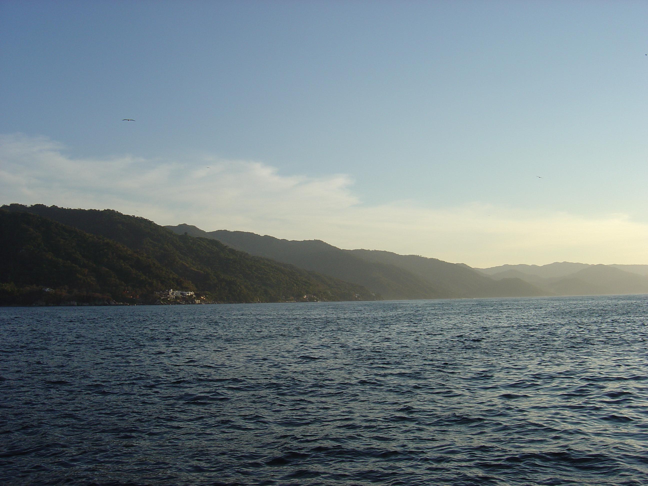 The beautiful shoreline
