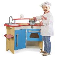 Melissa & Doug Cooks Corner Wooden Kitchen Review ...