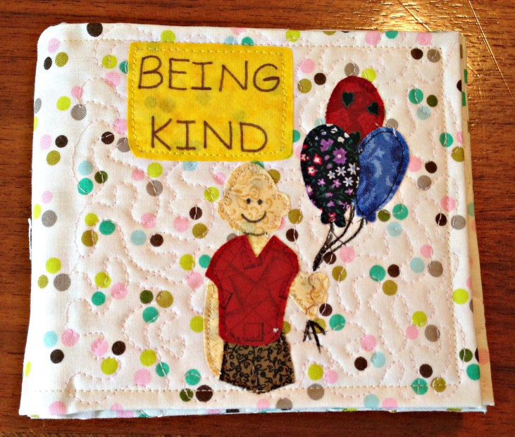 being kind quilted cover