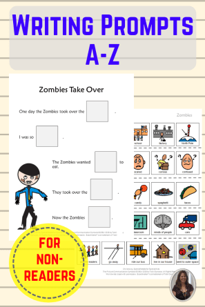 Writing Prompts A-Z zombie