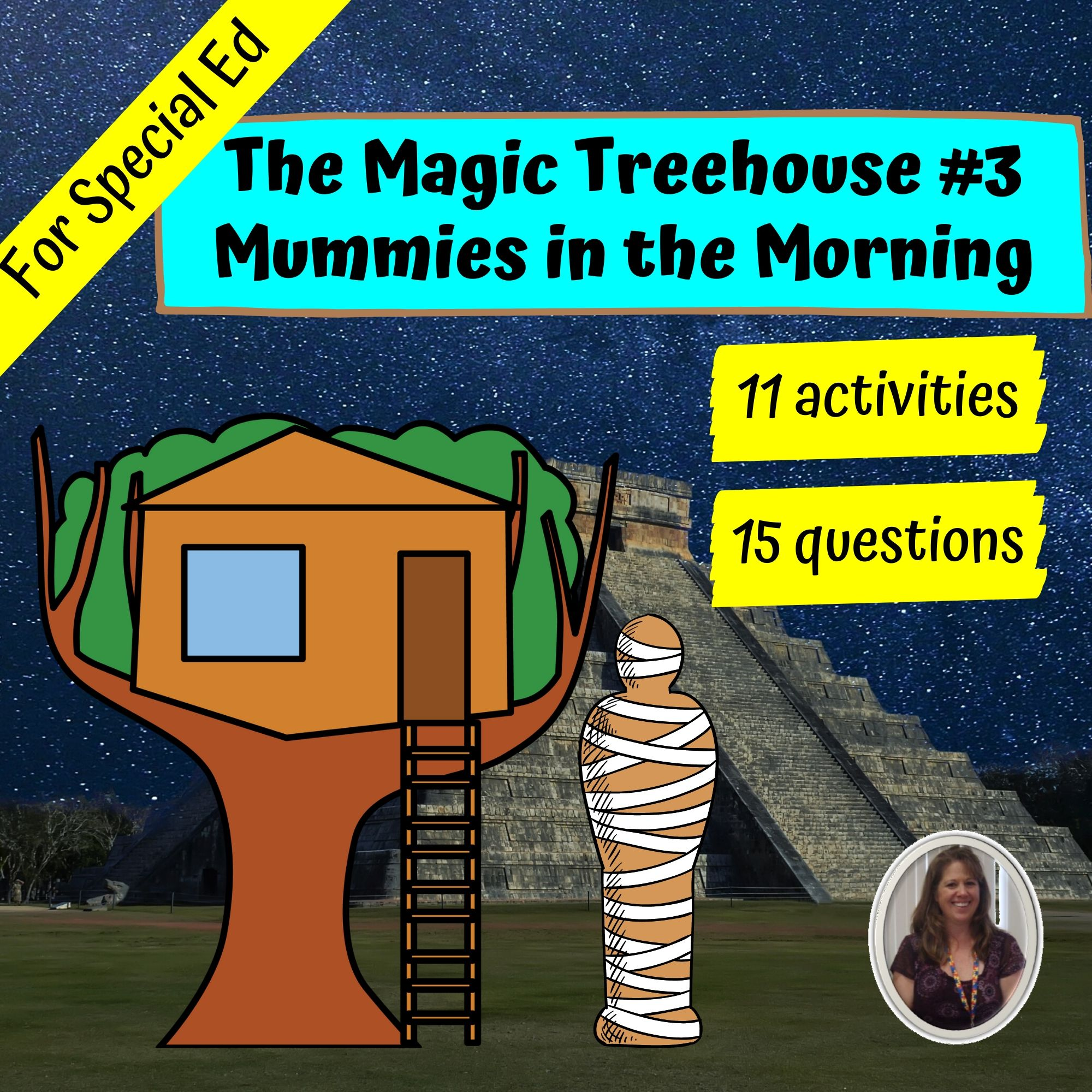 Mummies In The Morning Mth 3 Novel Study For Special Ed
