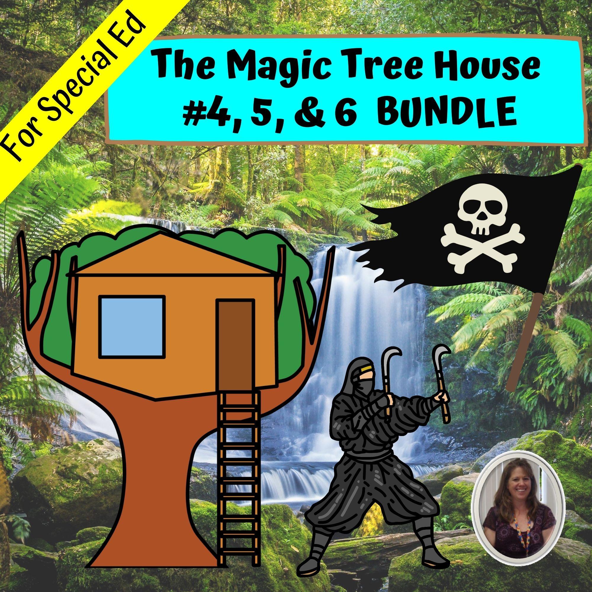 Magic Treehouse Bundle Books 4 5 And 6