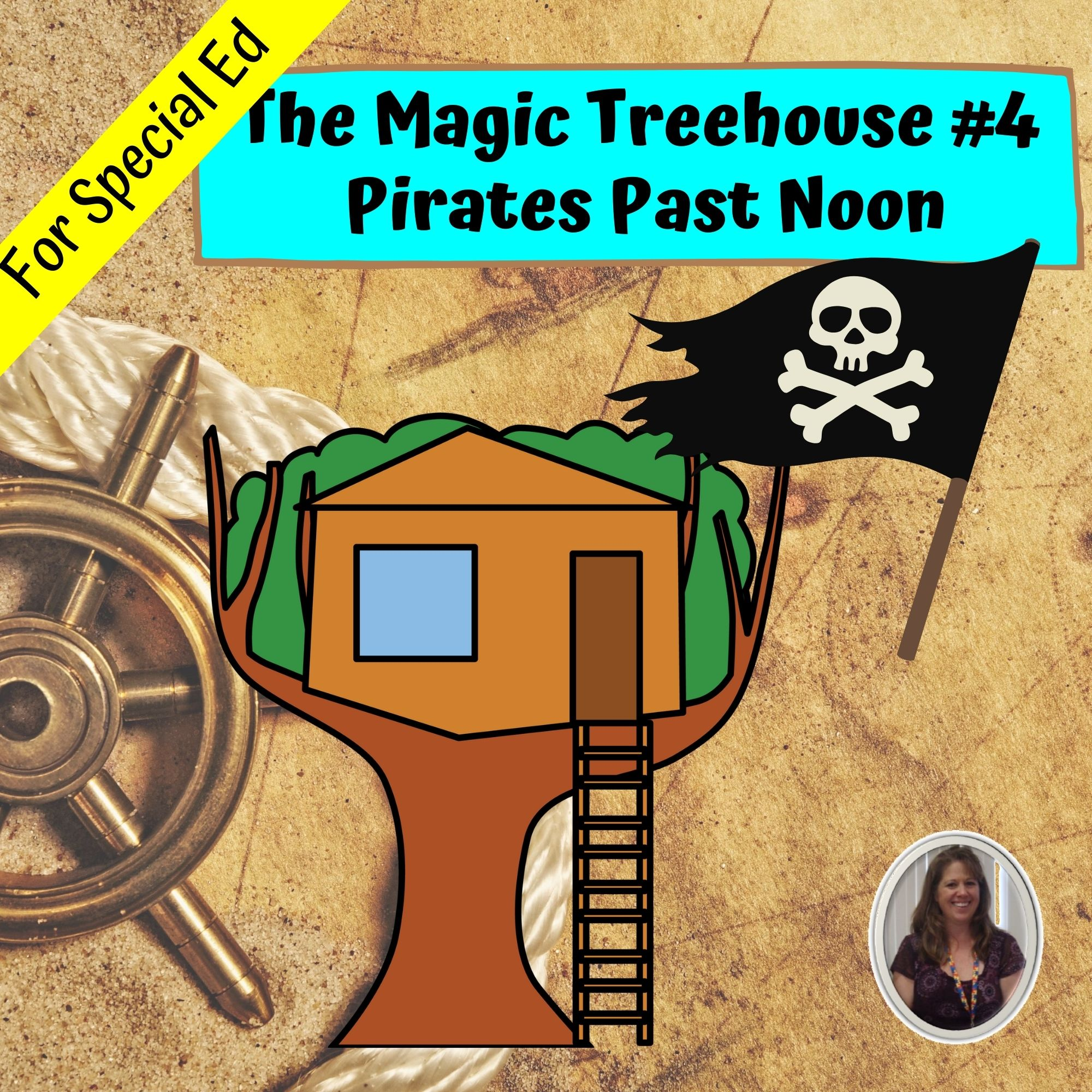 Pirates Past Noon Mth 4 Novel Study For Special Ed With