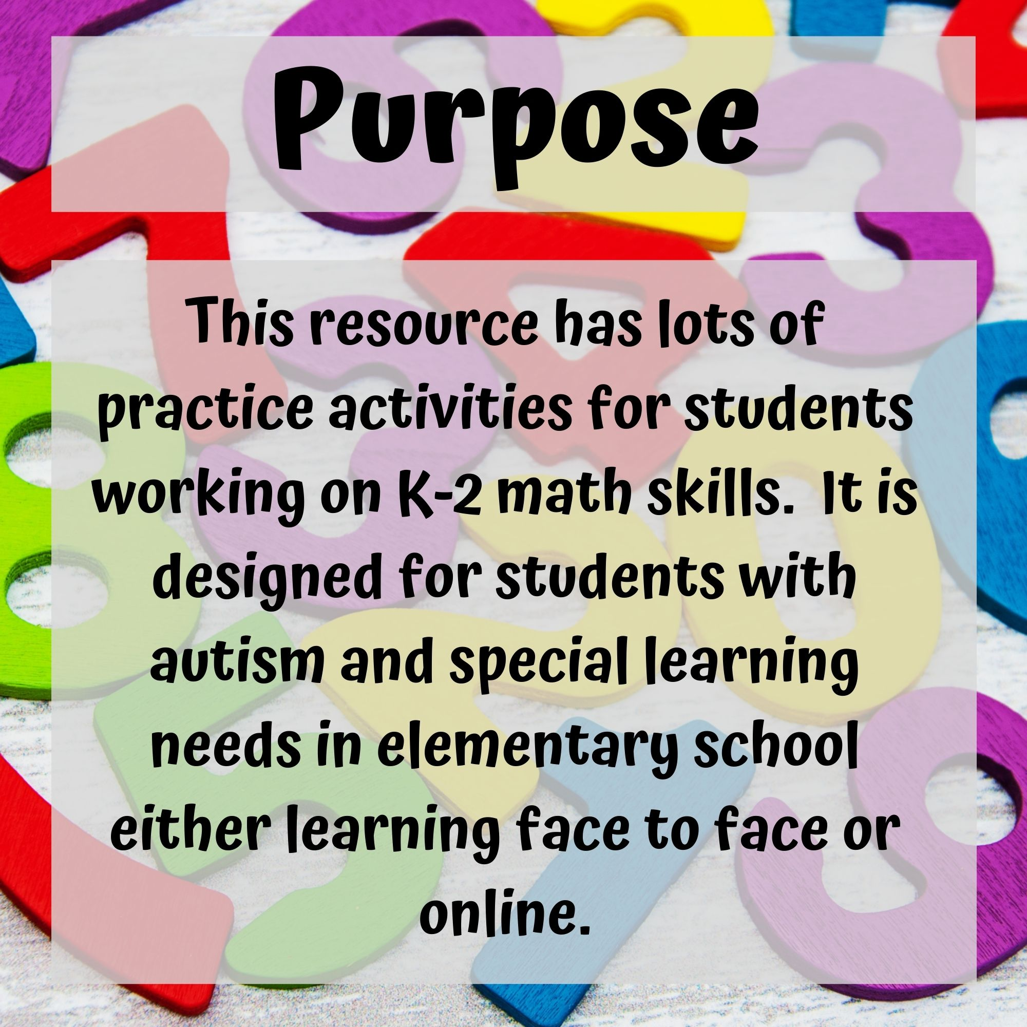 Math Digital Worksheets K 2 Special Ed For