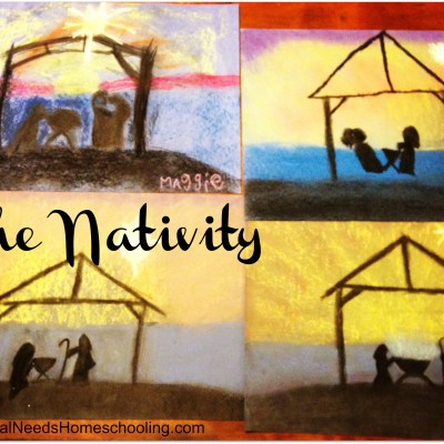 The Nativity Christmas Art Project