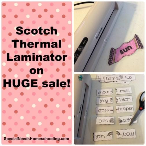 Scotch Thermal Laminator on huge sale