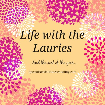 And the rest of the year…  Life with the Lauries part 1