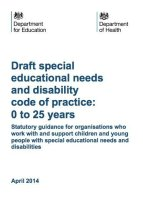 The Revised SEN Code of Practice has Arrived