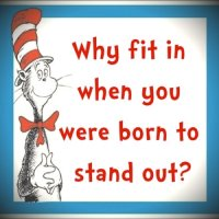 #SilentSunday: Dr Seuss's Advice for Aspies