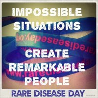 #RareDisease Day: Impossible situations create remarkable people