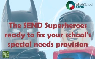 The SEND Superheroes ready to spruce up your school's provision