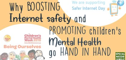 Why boosting internet safety and promoting children's mental health go hand in hand