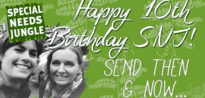 Happy 10th birthday SNJ! SEND then and now…