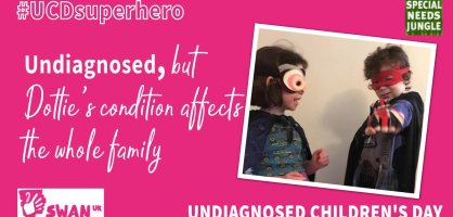 Undiagnosed, but Dottie's condition affects the whole family