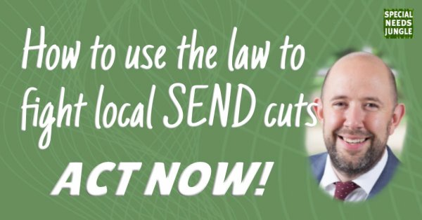 how to use the law to fight send cuts