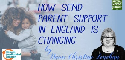 How SEND parent support in England is changing, by Christine Lenehan