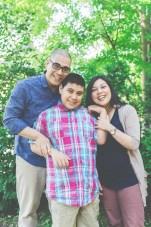 Melody Grewal and family