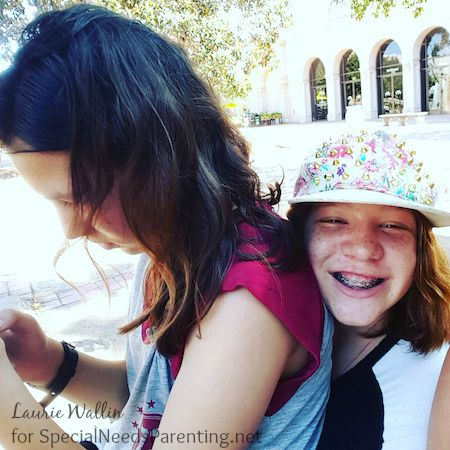 Middle school girls special needs parenting