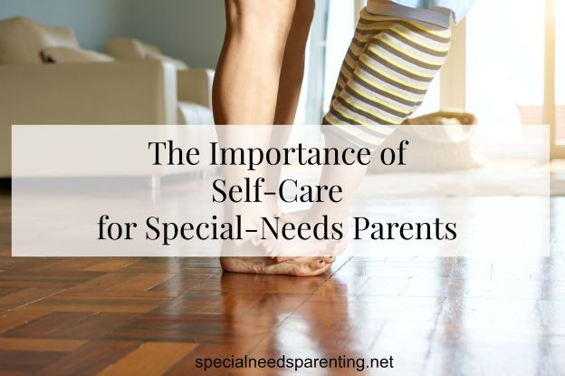 For special-needs parents, self-care is not optional. If we don't care for ourselves, we can't properly care for the children God has given us. - specialeneedsparenting.net