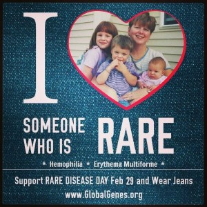 I heart someone who is rare 2016