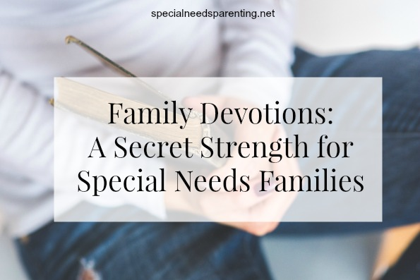 family devotions