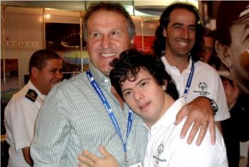 Zico, embaixador da Special Olympics Brasil