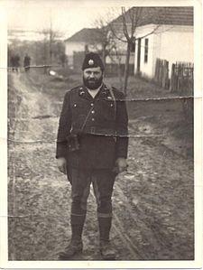 OSS 1st Lieutenant George Musulin behind German-occupied Serbia