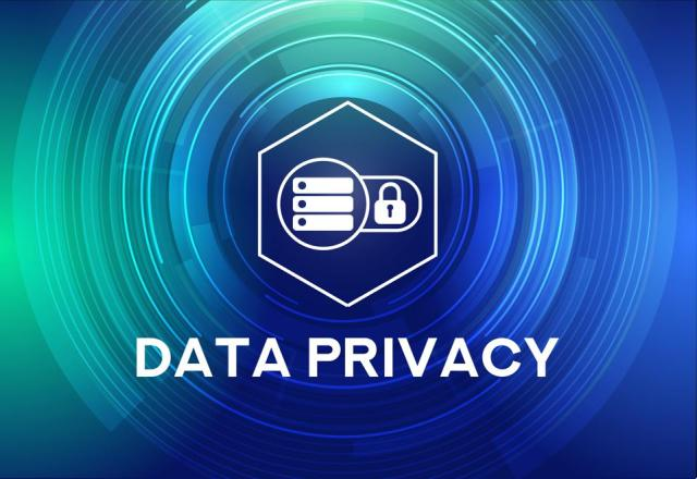 DATA PRIVACY Icon Concept