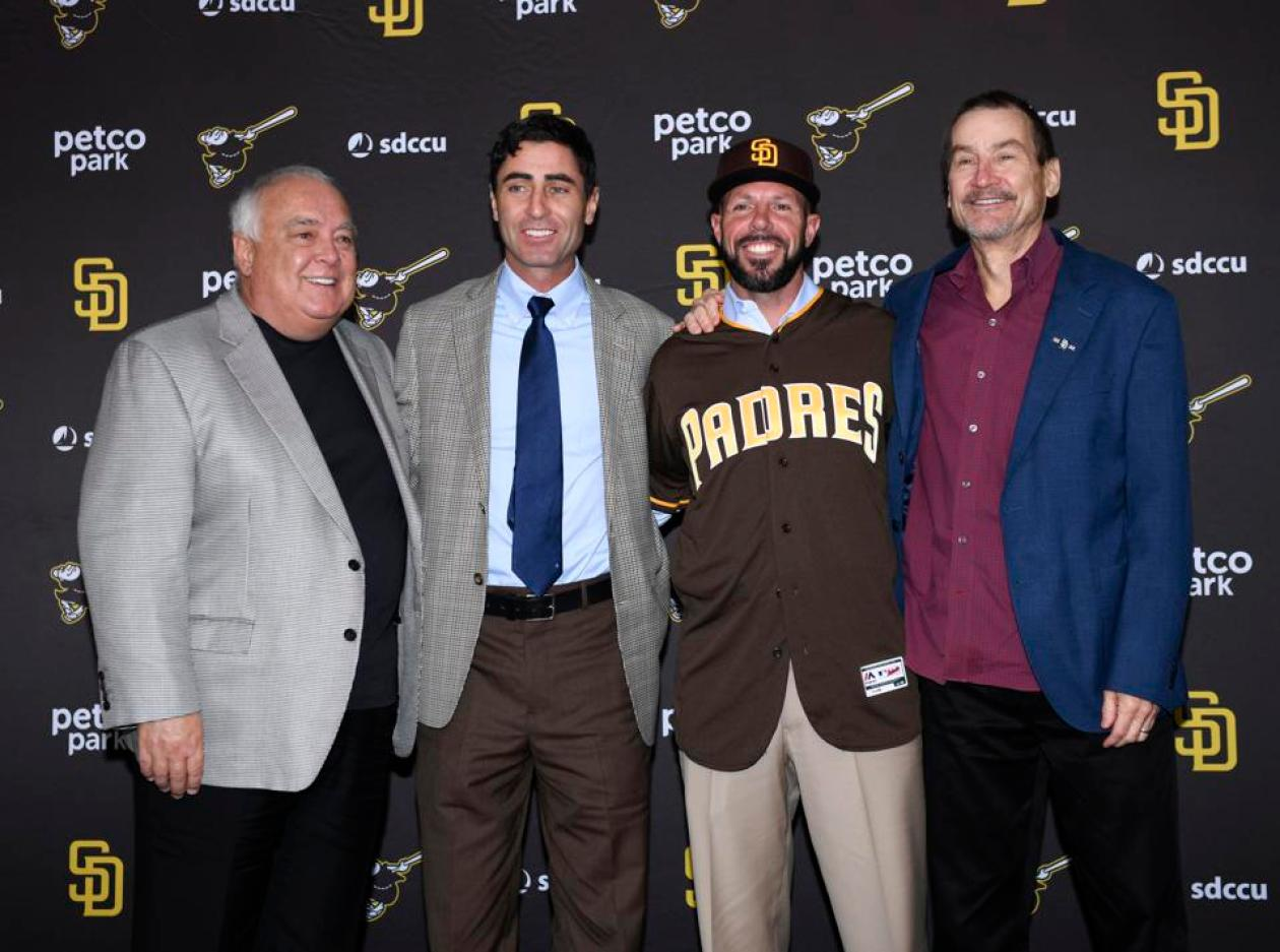 San Diego Padres Introduce Jayce Tingler - New Conference