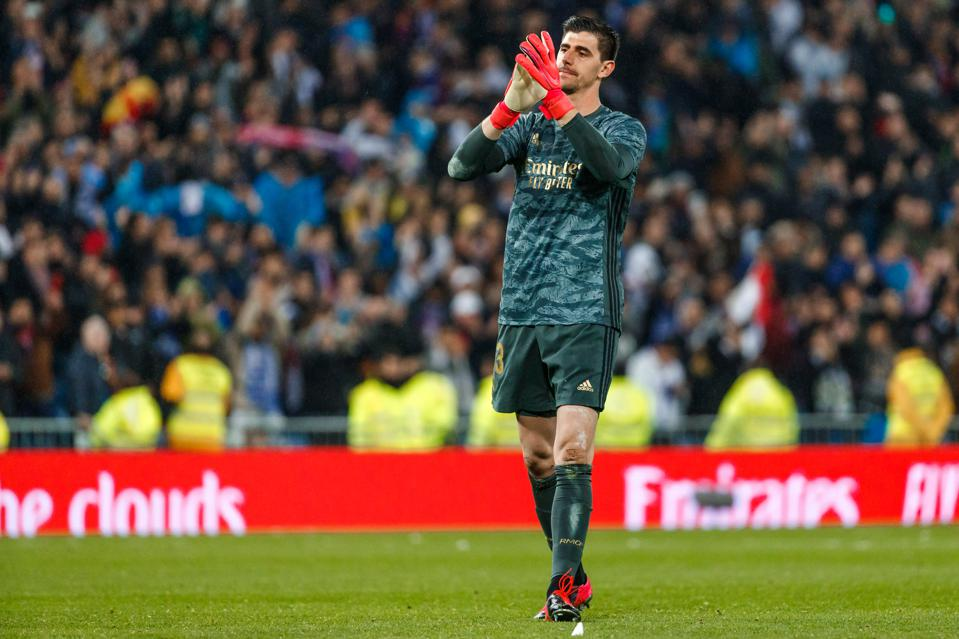 Thibaut Courtois Is The Rock That Holds Together Real Madrid's Defense