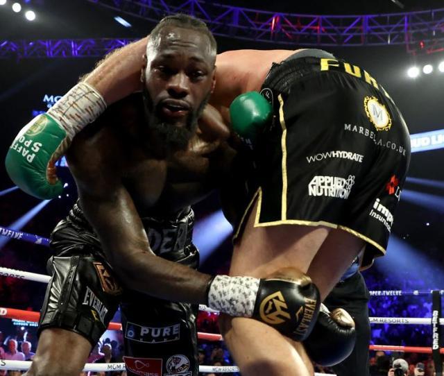 Tyson Fury Vs Deontay Wilder  Results Bronze Bombers Loss