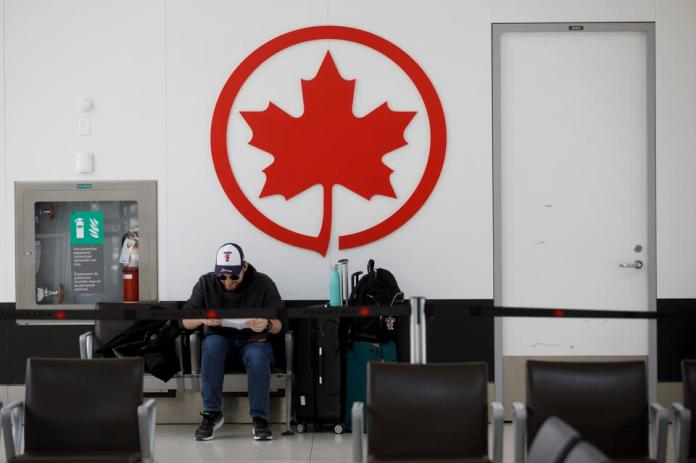 Air Canada temporarily lays off 15,000 employees as the airline industry wreaks havoc