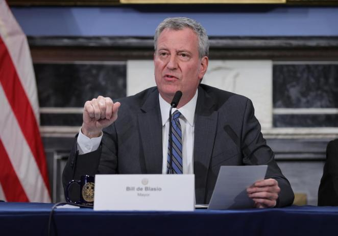 Image result for Mayor De Blasio